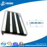 Outdoor Aluminum Anti Slip Stair Treads with Carborundum Inserts (MSSNC-4)