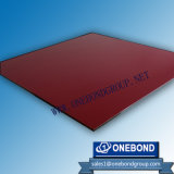 Gloss Wine Red Color Aluminum Composite Panel
