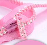 Fashion Pink Big Teeth Plastic Zipper