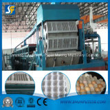 Egg Tray Machine Production Line with a Capacity of 1500 Pints Per Hour