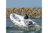 Aqualand 16feet 4.7m Rib Motor Boat/Rigid Inflatable Fishing Boat (RIB470C)