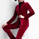 Bospoke Fashionable Fancy Design Red Color Fannel Suit