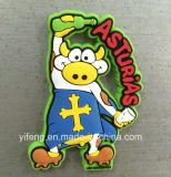 High Quality Soft PVC Animal Fridge Magnet for Souvenir Gifts