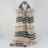 New Women Spring Polyester Rayon Printed Voile Viscose Fashion Scarf Bls01