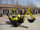 Self Propelled Powered Towable Backhoe