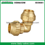 OEM&ODM Quality Brass Forged PE Pipe Equal Elbow (IC-7008)