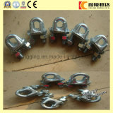 Steel Cable Use Wire Rope Clip/Clamps with Different Sizes
