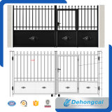 Customized Strong Wrought Iron Gate / Stainless Steel Gate