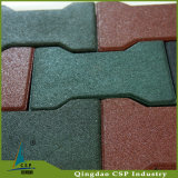Interlock Dog Bone Rubber Tile for Children Playground Outdoor