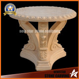 Stone Garden Furniture Marble Top coffee Table for Home Decoration