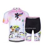 Women Summer Wholesale Cycling Wear Short Sleeve Cycling Jersey/Bike Wear