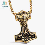 Factory Supply Zinc Alloy Metal Charm and Pendant with Black Enamel