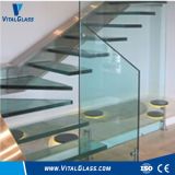 Tempered Low Iron Float Laminated Glass/Double Glazing Vacuum Glass