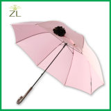 Very Nice Unique Girl Japan Quality Synthetic Leather Rain Umbrella with Waterproof