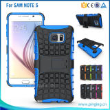 Dual Layer Kickstand Cell Mobile Cover for Samsung Galaxy Note 5 S6 Edge Plus