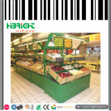 Supermarket Fruits and Vegetable Display Stand