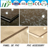 7.5*250mm Width Hot-Stamping PVC Panel PVC Ceiling PVC Wall Panel Waterproof Material Decor Panel