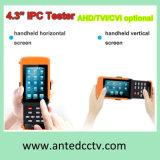 Handheld Cheap 4.3 IP Tvi Cvi Ahd CCTV Test Monitor with Touch Screen