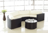 Aluminum Rattan Sofa Sets Outdoor Garden Furniture (BZ-SF006)