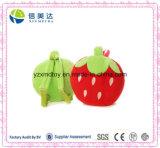 Stuffed Strawberry Children's Schoolbag Soft Plush Toy