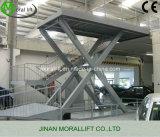 Hydraulic Scissor Car Lift with 6 Tons Capacity