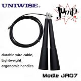 Black Fitness Equipment Crossfit Skipping Jump Rope Uic-Jr07
