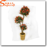 Factory Supplier Decorative Fake Plastic Artificial Bonsai Plant Flower