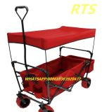Beach Folding Wagon with Canopy/ UV Protection