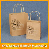 Mini Brown Paper Shopping Bags