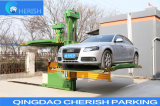 Rotating No Collision Avoidance Parking System with Ce