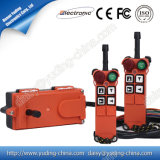 High Quality FCC Approved Double Speed Hoist Crane Truck Radio Remote Control System