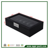 Factory Direct Sales OEM Cover Box of 10 Slots Wood Watch