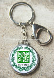 Scannable Qr Code Key Chain