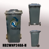 240L Plastic Outdoor Garbage Dustbin From China