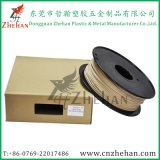 0.8kg/Spool 1.75mm Black Spool Plastic Wood Filaments