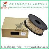 0.8kg/Spool 1.75mm Black Spool Plastic Wood Filaments