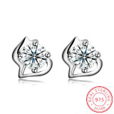 925 Sterling Silver Beautiful Design Hot Sale Ear Stud Earring