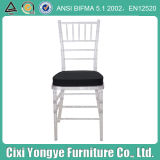 White Plastic Resin Tiffany Chair for Outdoor Weddings