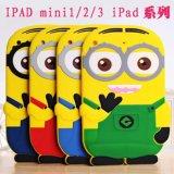 3D Cartoon TPU Case for iPad5/6 Silicone Cover Many Design