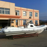 Liya 27ft 20 Person Cabin Rib Boat High Speed Boat