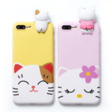 PC Cartoon Print Shockproof Phone Case for iPhone 6/7/6p/7p
