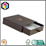 Gold Logo Drawer Style Sliding Cardboard Paper Gift Jewelry Box