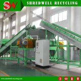 Two Shaft Scrap Car Tire Cutter for Waste Tyre Recycling