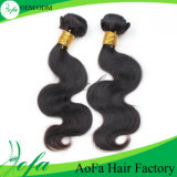 Low Price Unprocessed Human Natural Indian Hair (loose wave)