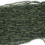 Fashion Crystal Nephrite Jade Bead