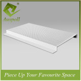 200W Aluminum Perforated G-Shaped Strip Ceiling Panel Applys to Airport