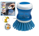 Kitchen Spray Pot Soap Push Pot Brush (BW107)