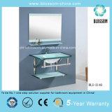Glass Wash Basins Bathroom Vanity (BLS-2140)