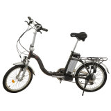 Foldable Alloy Frame E bicycle Folded Electric Bike Scooter 500W Motor 8fun Shimano Speed Gear