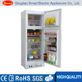 Double Door Propane Gas Powered Absorption Refrigerator and Freezer